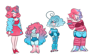 Gem adopts: Cotton candy PENDING by sariasong64
