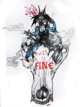 this is fine by sabarika
