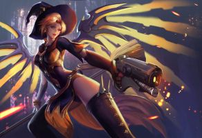 witch mercy by jiuge