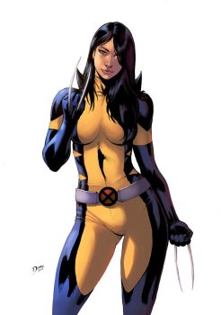 New Wolverine Color by logicfun