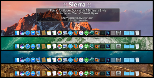 :: Sierra :: for RocketDock by sagorpirbd