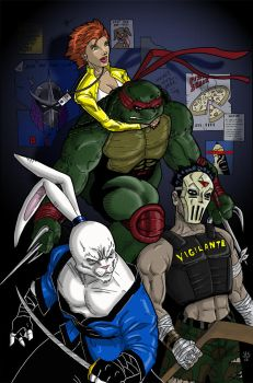 Raph and Friends by JerryLSchick