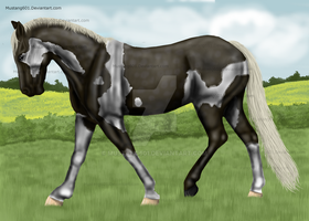 RedStone Silver Street - Silver Dapple Tobiano by Mustang601