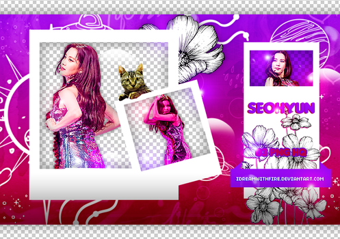 Pack Png 363 | SNSD | Seohyun | #4 by IDreamWithFire