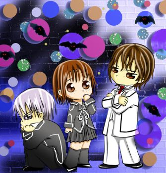 vampire knight chibies by alexielart