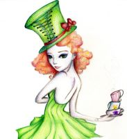 The Mad Hatter II by rogueXunited
