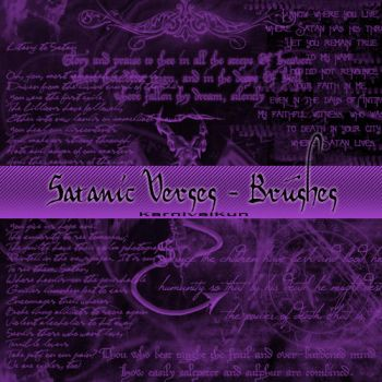 Satanic verses brushes by KarnivalKun
