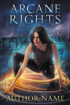 Arcane Rights - premade book cover - SOLD by LHarper