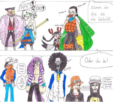Halloween with the SH-Crew by Wulftime