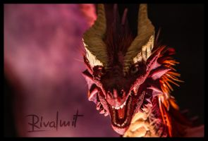 Companion Large dragon by rivalmit