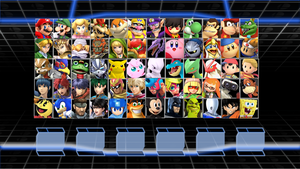 Super Smash Bros. Crusade 2 Roster Idea by MrYoshi1996