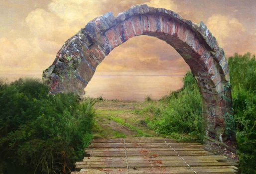 Arch Background by Nitwitbrit
