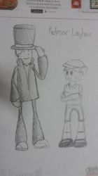 Layton and Luke by MCS1992