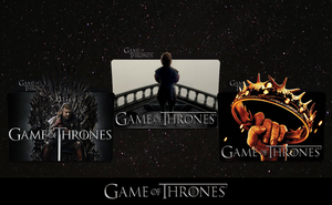 Game of Thrones Folder Icon Pack by MovieIconMan