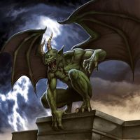 Gargoyle Greebo by albe75