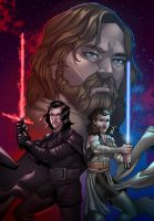 Star Wars the last Jedi by wansworld