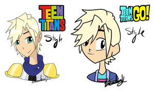 Garroth TeenTitans style by Pineconelover12