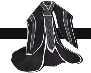 .:: MMD COMMISSION - Hanfu ::. by AneCoco