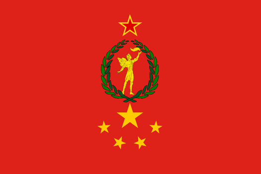 Union of Soviet sovereign republics flag by 33k7