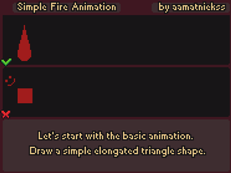 Fire Animation - Pixel Art Tutorial by aamatniekss