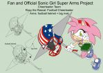 SonicSuperArmsProject  Rosy the Rascal(DesignTest) by skyshek