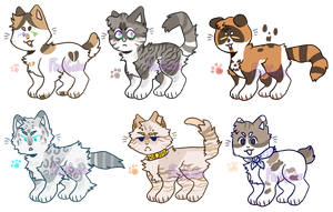 Some Nya Adopts(CLOSED) by cryptidroad