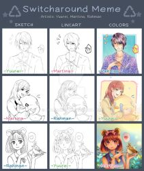 Switcharound Meme Collab by Anrachman