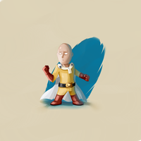 Illuday #11 - One punch man ! by Illuday