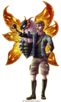 Bug Trainer Danny by Deltheor