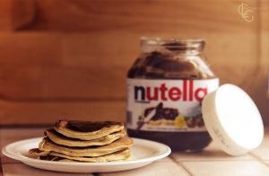 Pancakes/Nutella by ClaraLG