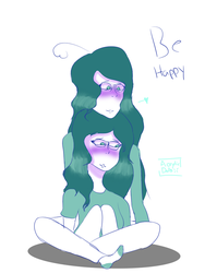 Be happy by AcrylicDolls