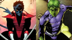 Nightcrawler Vs Beast Boy by INeededANewName
