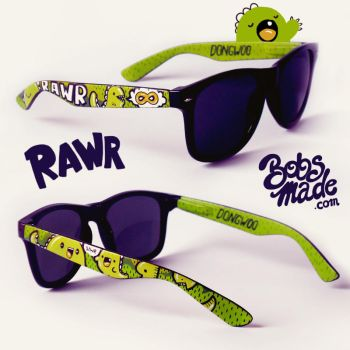 Dino Sunglasses by Bobsmade