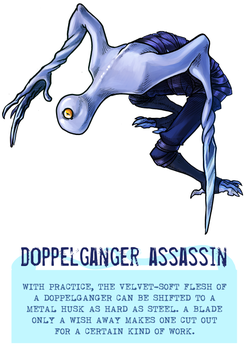 Day 44 - Doppelganger Assassin by flatw00ds