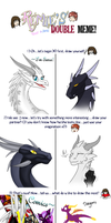 Double Meme with DragonOfIceAndFire by Seeraphine