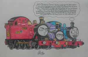 Thomas The Annoying Engine by PilloTheStar