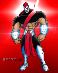 THE GLADIATOR OF THE GODS: SPARTAN! by EricLinquist