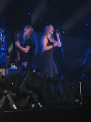 Anette Olzon and Marco Hietal by Thepoeteuh