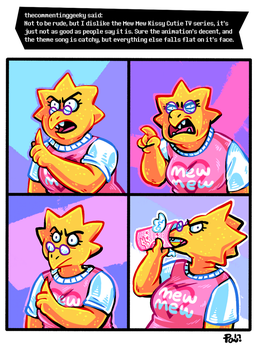 Undertale ask blog: mew mew kissy what did you ju- by JimPAVLICA