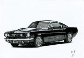 Ford Mustang by watracz
