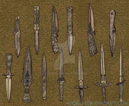 Knife and Dagger Collection by angelvi
