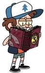 Gravity Falls / Bipper by BlueKrovsky