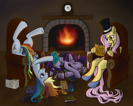 Late night reading by WillyGalleta