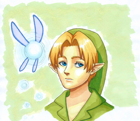 Young Link by EarthyD