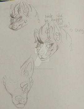 More Fogo (a WIP Go to sketch page) by MCSpiritWolf
