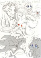 Our first week together .+Maria and Shadow+. by Credens-Vita