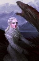 Daenerys Targaryen by LykasWilliam