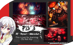3rd Psd Pack by RyuzeNanzuke