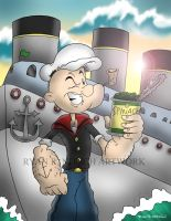 Popeye - Ryan R. Nitsch by RyanNitsch