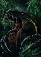 Indoraptor by WretchedSpawn2012